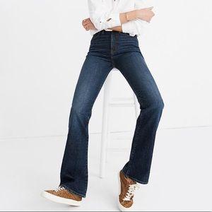 Madewell Flare Jeans Dark Wash Sz 25*30